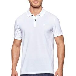 textil Herre Polo-t-shirts m. korte ærmer Impetus 7305G05 001 Hvid