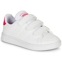 Sko Pige Lave sneakers adidas Originals ADVANTAGE C Hvid