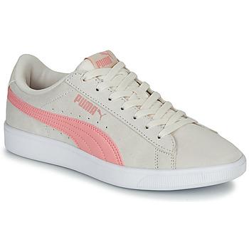 Sko Dame Lave sneakers Puma VIKKY WNS V2 Beige