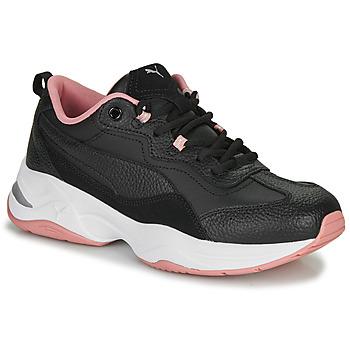 Sko Dame Lave sneakers Puma WNS CILIA LUX N Sort