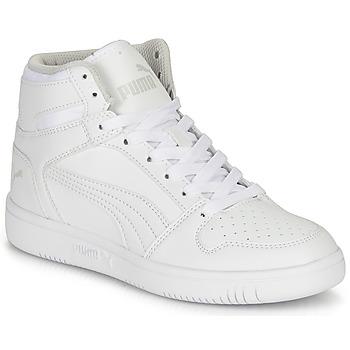 Sko Børn Høje sneakers Puma REBOUND LAYUP B Hvid