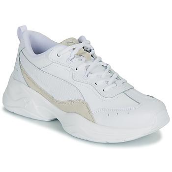 Sko Dame Lave sneakers Puma WNS CILIA LUX B Hvid