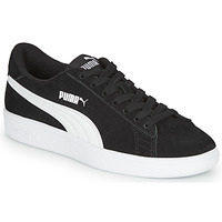 Sko Dreng Lave sneakers Puma SMASH V2 SD JR Sort