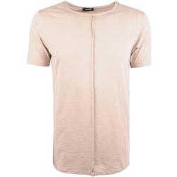 textil Herre T-shirts m. korte ærmer Xagon Man  Beige