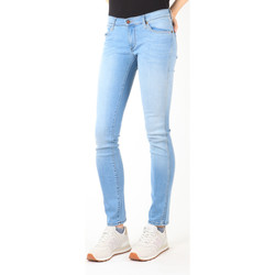textil Dame Smalle jeans Wrangler Jeans  Blue Trace W22TF729D