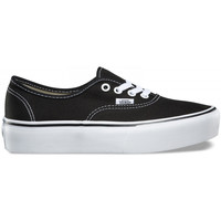 Sko Herre Skatesko Vans Authentic platfor Sort