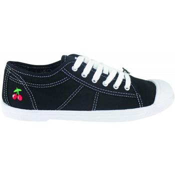 Sko Dame Lave sneakers Le Temps des Cerises Basic 02 Sort