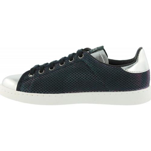 1125101  Victoria  lave sneakers  dame  blå LKssO