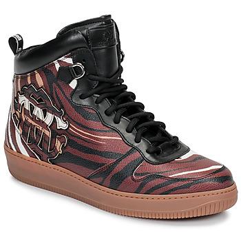 Sko Herre Høje sneakers Roberto Cavalli 8343 Flerfarvet