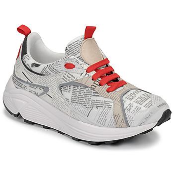 Sko Herre Lave sneakers John Galliano 8516 Grå
