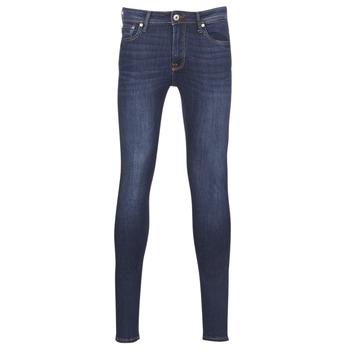 textil Herre Jeans - skinny Jack & Jones JJILIAM Blå