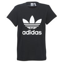 textil Dame T-shirts m. korte ærmer adidas Originals BOYFRIEND TEE Sort