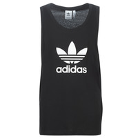 textil Herre Toppe / T-shirts uden ærmer adidas Originals TREFOIL TANK Sort