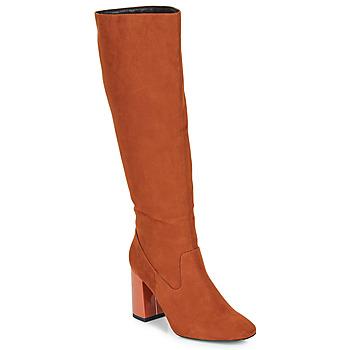 Sko Dame Chikke støvler André LUXURY Orange