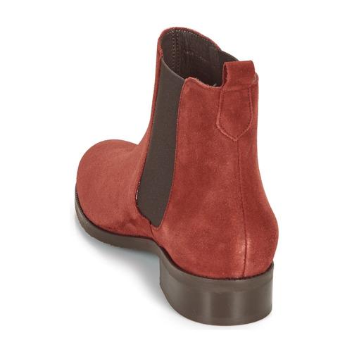 CHATELAIN  André  støvler  dame  rød IzpJ8