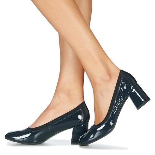 LAYA  André  højhælede sko  dame  marineblå 74ZX5