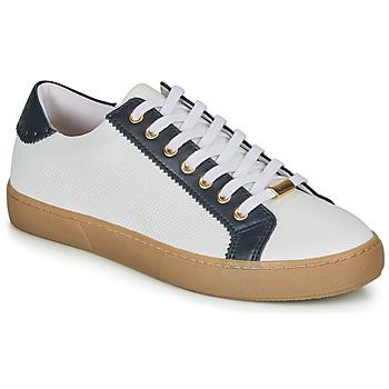 Sko Dame Lave sneakers André BERKELEY Hvid / Med motiver