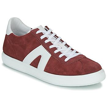 Sko Herre Lave sneakers André GILOT Bordeaux