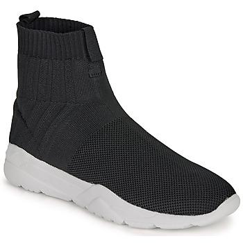 Sko Herre Høje sneakers André LUNAIRE Sort