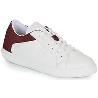 Sko Herre Lave sneakers André BIOTONIC Hvid / Bordeaux