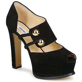 Sko Dame Pumps Moschino MA1608 Sort