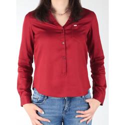 textil Dame Skjorter / Skjortebluser Lee L47QLCPR burgundy