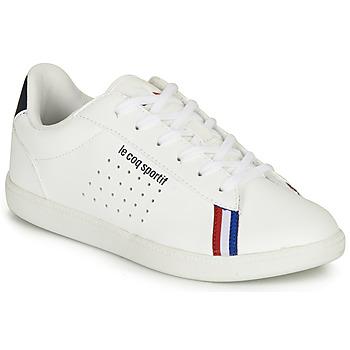 Sko Dreng Lave sneakers Le Coq Sportif COURTSTAR GS SPORT BBR Hvid
