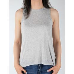textil Dame Toppe / T-shirts uden ærmer Lee Tank L40MRB37 grey