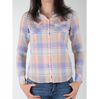 textil Dame Skjorter / Skjortebluser Wrangler Western Shirt W5045BNSF Multicolor