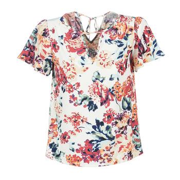 textil Dame Toppe / Bluser Casual Attitude LAURIANA Hvid / Flerfarvet