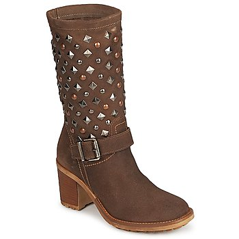 Sko Dame Chikke støvler Meline DOTRE Brun