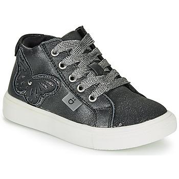 Sko Pige Høje sneakers André MARIPOSA Grå