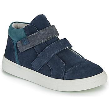Sko Dreng Høje sneakers André UBUD Marineblå