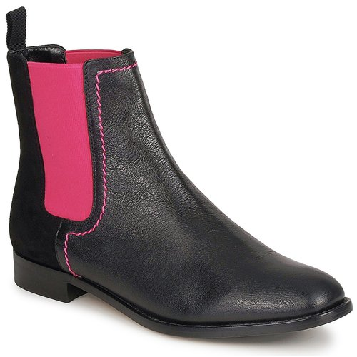 Sko Dame Støvler Moschino Cheap & CHIC CA2112 Sort / Pink
