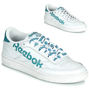 Sko Dame Lave sneakers Reebok Classic CLUB C 86 Hvid / Blå