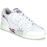 Sko Lave sneakers Reebok Classic WORKOUT PLUS MU Hvid / Blå / Rød