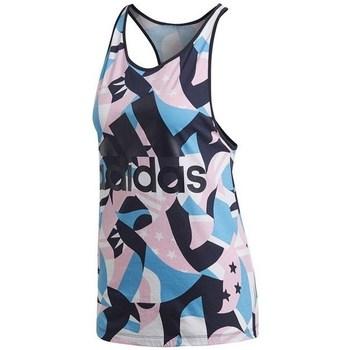 Toppe / T-shirts uden ærmer adidas  W Sid Tank Aop