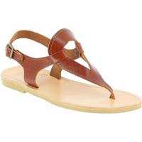 Sko Dame Sandaler Attica Sandals ARTEMIS CALF DK-BROWN marrone