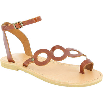 Sko Dame Sandaler Attica Sandals APHRODITE CALF DK-BROWN marrone