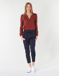 textil Dame Chinos / Gulerodsbukser Only ONLPOPTRASH Marineblå
