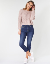 textil Dame Jeans - skinny Only ONLEMILY Blå / Medium