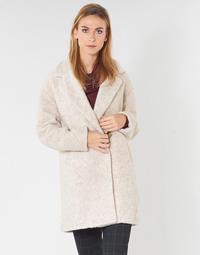 textil Dame Frakker Only ONLNINA Beige