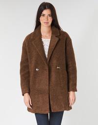 textil Dame Frakker Only ONLNINA Brun