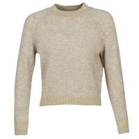 textil Dame Pullovere Only ONLFRANJA Beige