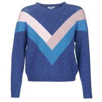textil Dame Pullovere Only ONLFCORA Blå