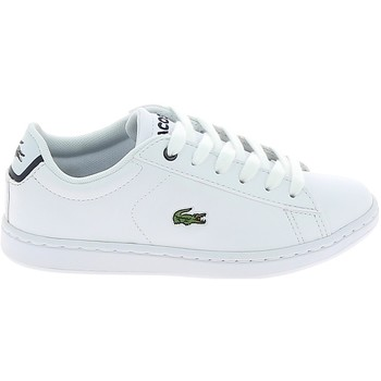Sko Lave sneakers Lacoste Carnaby Evo BL C Blanc Marine Hvid