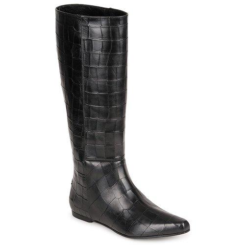 Sko Dame Chikke støvler Roberto Cavalli SPS749 Sort