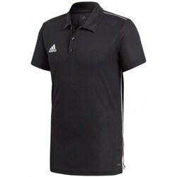 textil Herre Polo-t-shirts m. korte ærmer adidas Originals Core 18 Polo Sort