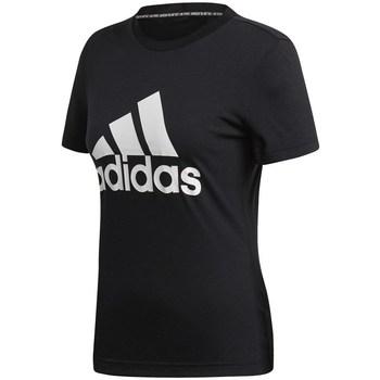 textil Dame T-shirts m. korte ærmer adidas Originals Must Haves Badge OF Sport Sort