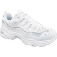 Sko Dame Lave sneakers Skechers Dlites Hvid